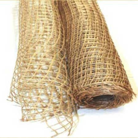 Natural Jute Mesh Natural ( 21 Inch x 6 Yards )