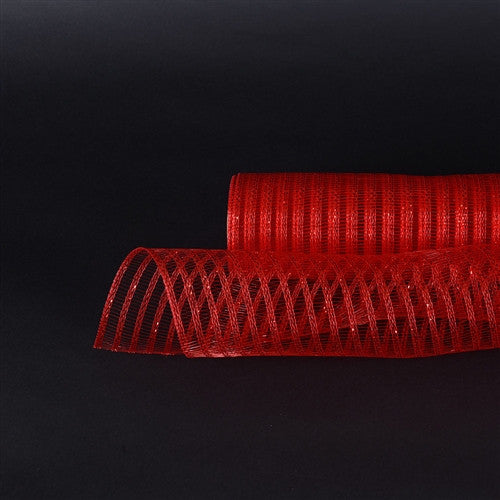 Red Deco Mesh Laser Eyelash