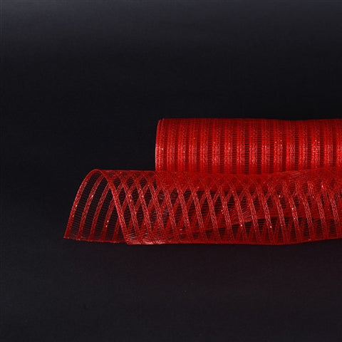 Red Deco Mesh Laser Eyelash -