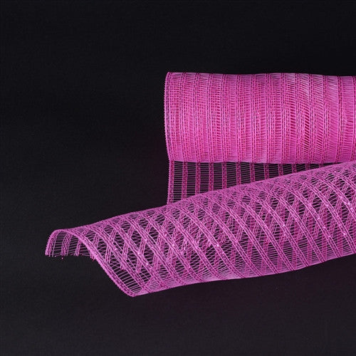 Hot Pink Deco Mesh Laser Eyelash