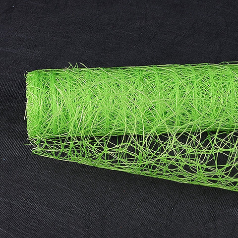 Sisal Mesh Wrap Apple Green ( 21 Inch x 6 Yards )