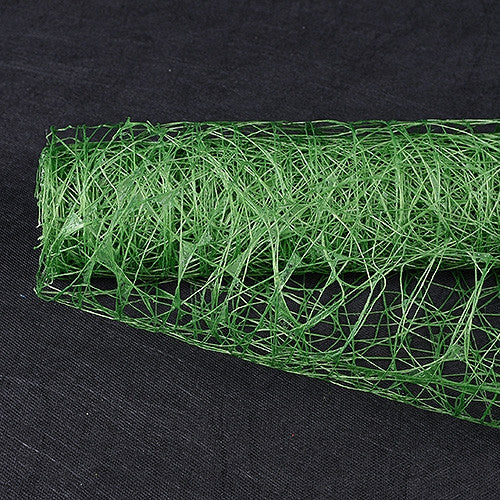 Sisal Mesh Wrap Emerald ( 21 Inch x 6 Yards )