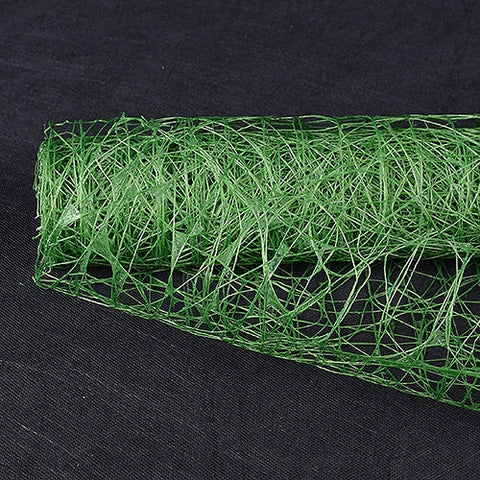 Sisal Mesh Wrap Emerald ( 21 Inch x 6 Yards ) -