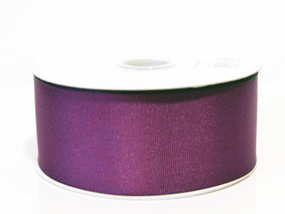 Grosgrain Ribbon Solid Color 25 Yards Plum ( W: 5/8 inch | L: 25 Yards )