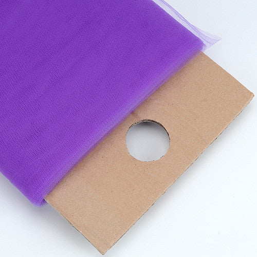 Purple 54 Inch Premium Tulle Fabric Bolt ( W: 54 inch | L: 40 Yards )