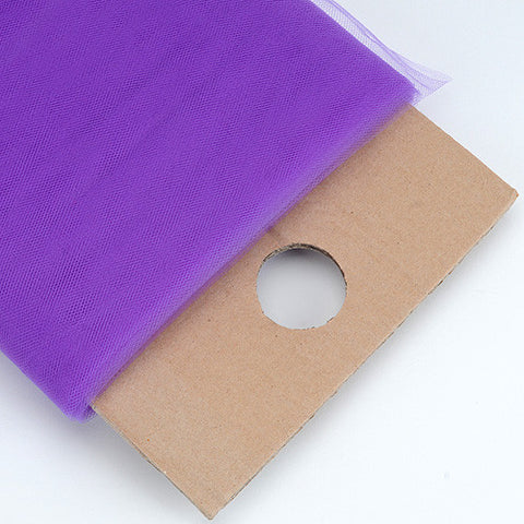 Purple 54 Inch Premium Tulle Fabric Bolt ( W: 54 inch | L: 40 Yards ) -