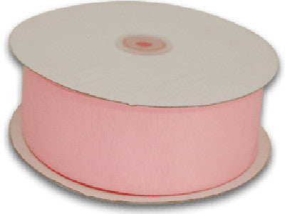 Grosgrain Ribbon Solid Color 25 Yards Light Pink ( W: 1-1/2 inch | L: 25 Yards )