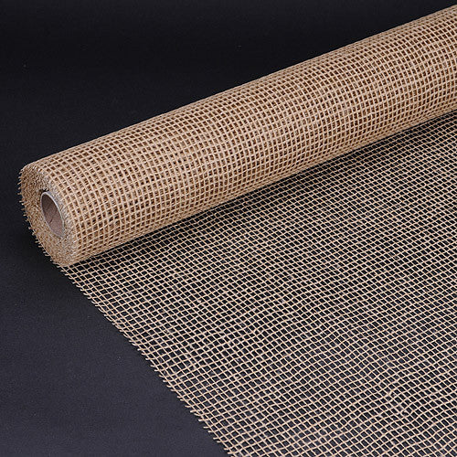 Natural Cotton Jute Natural ( 21 Inch x 6 Yards )