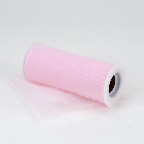 Light Pink Premium Tulle Fabric ( 18 inch | 25 Yards )