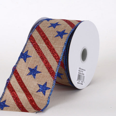 Flag Design Ribbon Flag ( 2.5 Inch x 10 Yards ) -