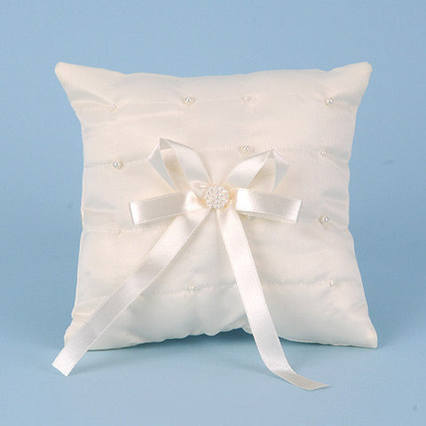 Ring Bearer Pillow Ivory ( 7 Inch ) -