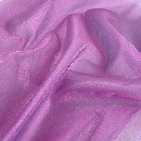 Two Tone Organza Overlays Mauve Blue ( W: 28 inch | L: 108 Inches ) -