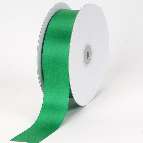 Satin Ribbon Single Face Emerald ( 1/8 inch | 100 Yards )