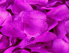 Silk Flower Petal Purple ( 400 Petals )