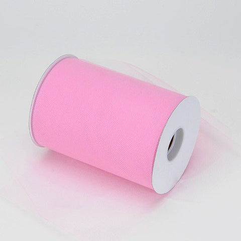 Pink Premium Tulle 100 Yards ( W: 6 inch | L: 100 Yards ) -