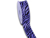 Grosgrain Ribbon Animal Print Iris ( W: 5/8 inch | L: 25 Yards )