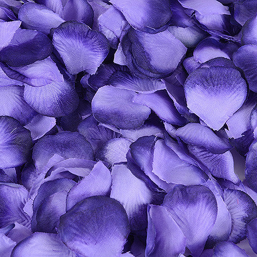 Silk Flower Petal Purple Haze ( 400 Petals )