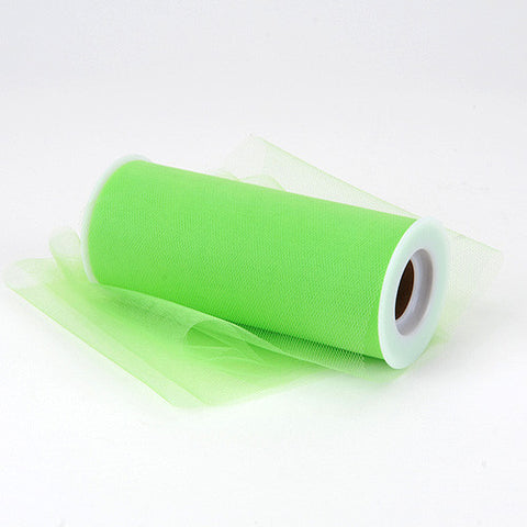 Apple Green Premium Tulle Fabric ( 18 inch | 25 Yards )