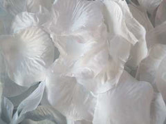 Silk Flower Petal White ( 400 Petals )