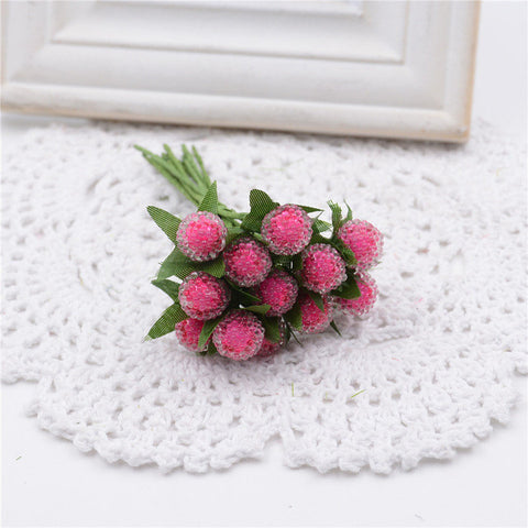 Small Berries Artificial Flower - 12 Pcs - MY DIY Fabric
