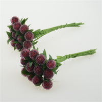 Small Berries Artificial Flower - 12 Pcs