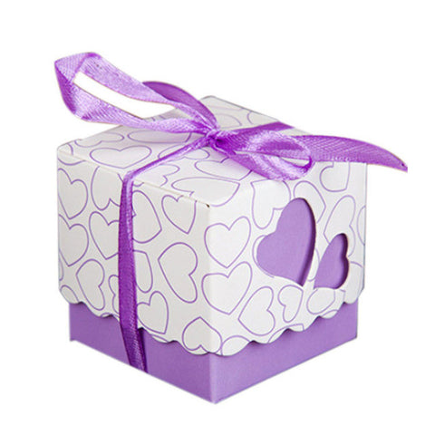 Covered Love Square Sweet Candy Box - MY DIY Fabric