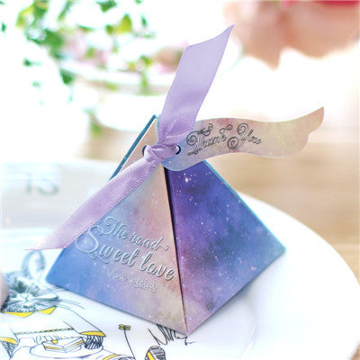 Starry Sky Gift Candy Box 1 Pc. - MY DIY Fabric