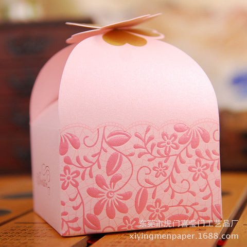 Multicolor Hollow Butterfly Sweet Candy Box - 10 Pcs - MY DIY Fabric