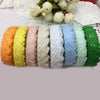 Premium Cotton Crochet Lace Roll Ribbon - 2 Yards