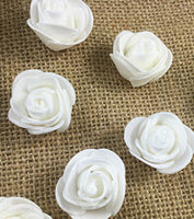 Mini PE Foam Artificial Rose Flowers - 30 Pcs