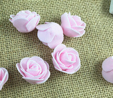 Mini PE Foam Artificial Rose Flowers - 30 Pcs - MY DIY Fabric