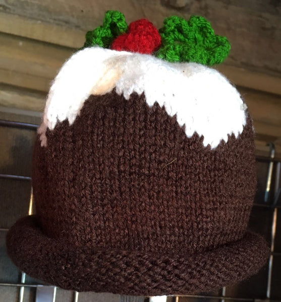 HAT - CHRISTMAS PUDDING