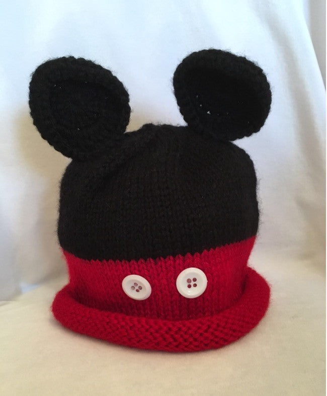 HAT - RED MOUSE