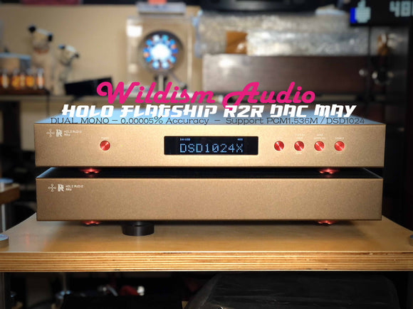 Holo Audio R2R DAC ,Preamp & Accessories