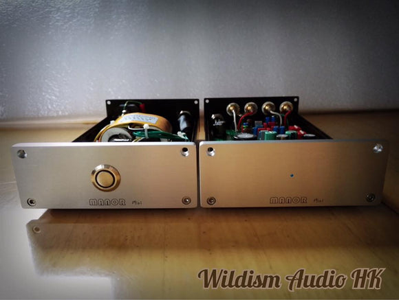 入門首選 Manor Studio MINI MM/MC Phono Stage 分體唱頭放大器