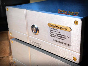 "Manor Audio Stage 2.2 摩改版 ""Wild Edition""  MM/MC Class A Phono Stage甲類輸出分體唱頭放大器"