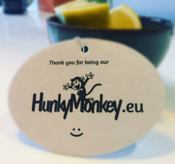 HunkyMonkey Lemon Car Air Freshener
