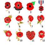 Brooch - Lest We Forget Poppy Brooch Selection
