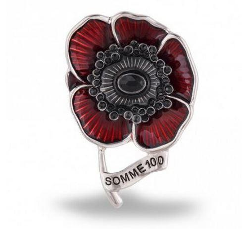 Brooch - Lest We Forget Poppy Brooch Special Collection