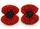 EarRings - Lest We Forget Poppy Earrings