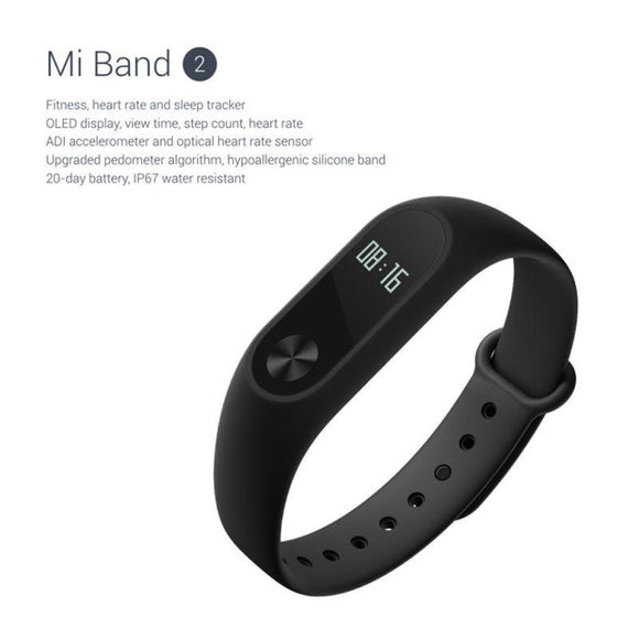 Fitness Band - XiaoMi 2 OLED Fitness Tracker Wristband