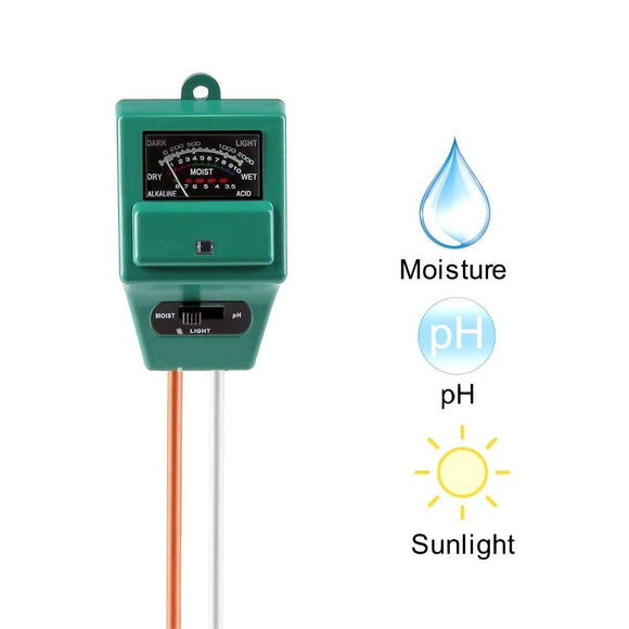 Gadget - 3 In 1 PH/Moisture/Light Soil Tester