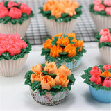 Icing Nozzles - Russian Flower/Biscuits Piping Nozzles