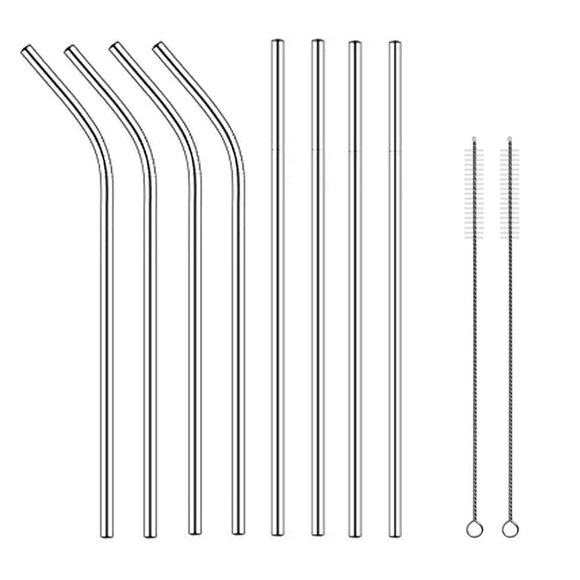 Kitchen Gadgets - Reusable Stainless Steel Drinking Straws