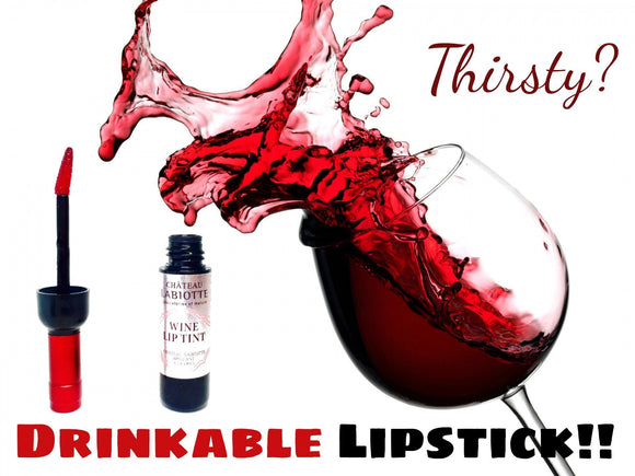Lip Gloss - Semi Permanent Korean Waterproof Wine Lip Tint Lipstick