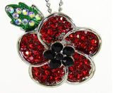Necklaces - Lest We Forget Poppy Necklace