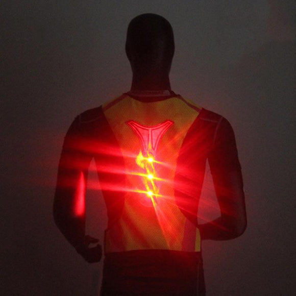Sports Clothing - High Visibility LED Reflective & Breathable Safety Vest