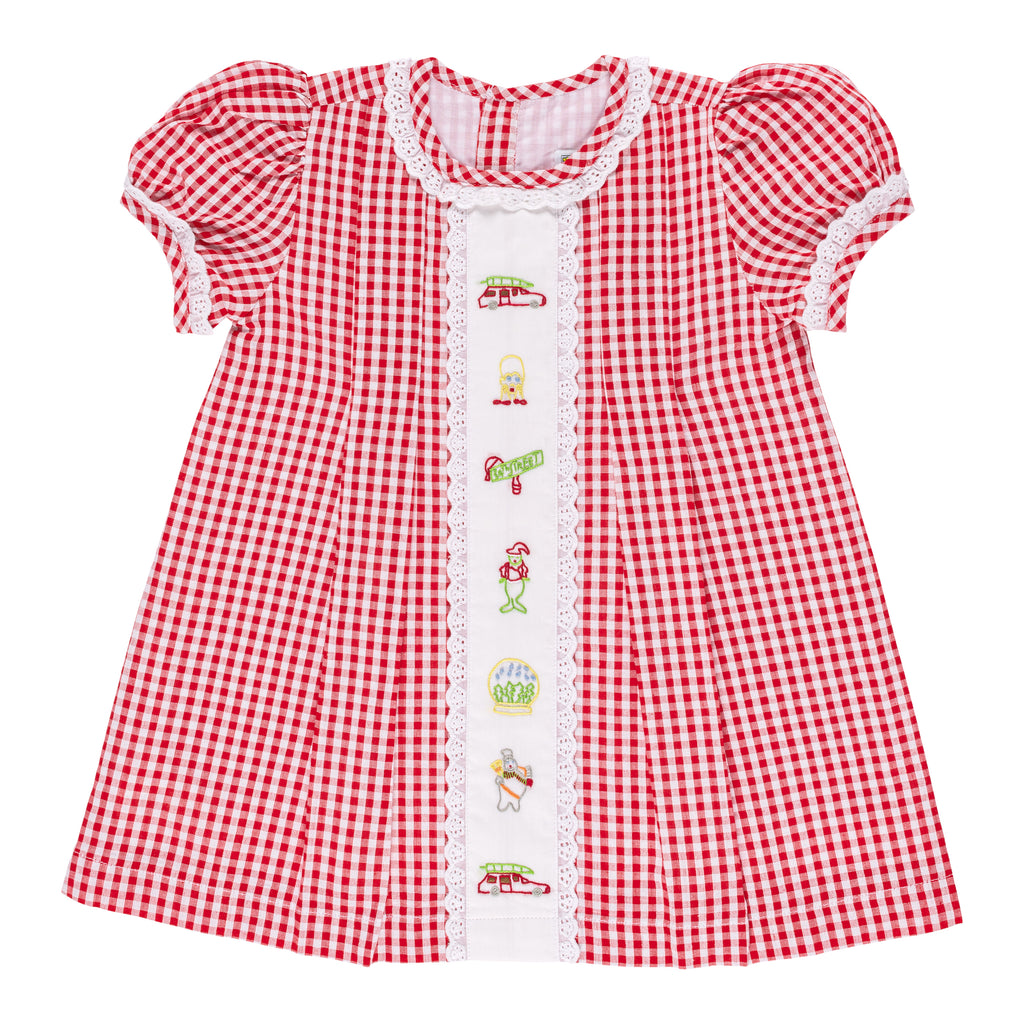 Christian Elizabeth & Co. Christmas Movie Dress