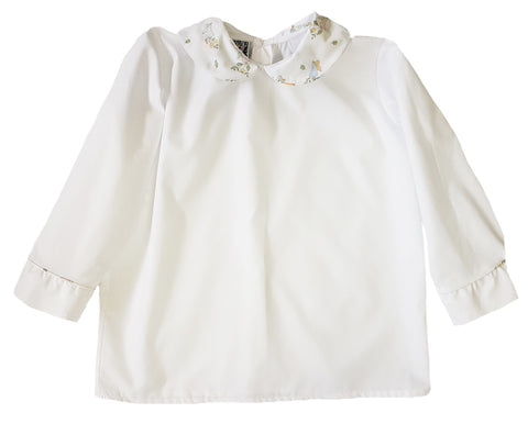 Aspen Angel Peter Pan Collar Shirt