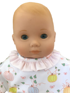 Paepke Pumpkin Doll's Dress